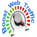 Provide you 30000+ real human website traffic from Google and Social Media