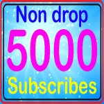 Guarantee 5000+ subscriber high quality super fast with instant start