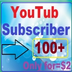 Add 100+YouTube subscriber with Bonus free manually work complete