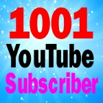 Cheap rate 1001+ Non drop You-Tube sub-scribes fully safe within Refill guarantee