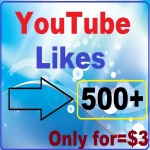 I give you 500+youtube likes instantly start work