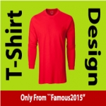 Get Awesome T-Shirt design With unlimited revision