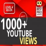 1000+ VIEWS HIGH RETENTION Instant Start Fully safe Guaranteed