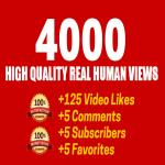 Fast 2000 Youtube vi-ew or 1000 youtube like only
