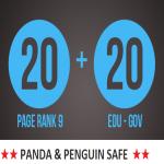 20 PR9 + 20. EDU -. GOV Backlinks From Authority Domain