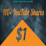 110+ YouTube Shares