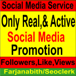 Get Real & Active 1000+ Social Media Follo wers/Li ke Promotion for your Social Platform In very Cheap Rate