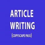 Write a 500 Word ARTICLE