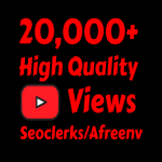 add 20000+ High Quality Youtube vie ws