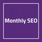 Say no to Start-Stop-SEO. On-going Page 1 SEO. Articles. Rank tracking. Social. Support