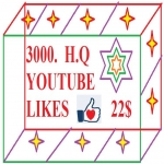 Give you 3000 Youtube LIKES OR 1k Subscribes very fast