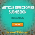 7450 Directory Submission I wll submit your Article to 7450 Directories,  Get 500 Quality Backlinks