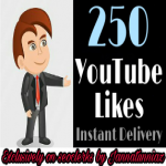 Get instant 250+ Youtube likes with very first delivery.