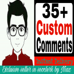 Start Instant 32+ custom comment delivery within 2-5 hours