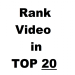 Youtube video Ranking service,  TOP 20 GUARANTEED