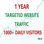 Get 1 month TARGETED WEBSITE TRAFFIC