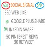 560 social signal blog boost pack