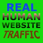 Drive daily real social seo friendly website traffic,  visitors