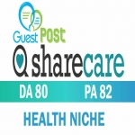 Will write and publish heath topic on SHARECARE for your website/blog
