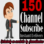 Get instant 150+ Subscriber Non Drop Guaranteed Completed Within 2-10 hours