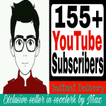 Get You 155+ Real Non-Drop YouTube Subscribers Very exclusive