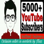 Fantastic Deals 5000/5k+ YouTube Channel Subscribers Non Drop Guaranteed and complete 48 hours or less