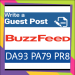 Publish guest post on buzzfeed. Com DA 93 PA79,  PR 8 DOFOLLOW Backlink