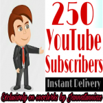 Add for You 250+ Real Subscribers and 80+ Likes YouTube Safe & Non Drop