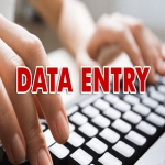 20 Page Data Entry Work