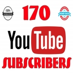 offer 170+NON DROP USA & English And World Wide youtube channel Subs-cribers awesome fast