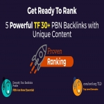 REOPENED EliteX 5 Homepage TF 30+ Powerful PBN Backlinks Posts V2 - Proven Ranking with Unique Content
