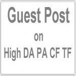 Guest Post on HQ DA40+ Niche Blog