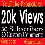 Package offer 20000-22000 YouTube Views