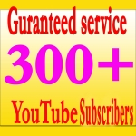Get Guaranteed 300+ You Tube Real Worldwide Subscribers Instant delivery