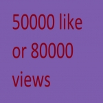 Instant Start 50000 like or 80,000 views social Media Video Views or Likes Marketing with out utube.