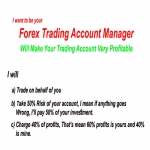 Be Your Forex Trading Account Manager