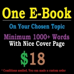 One E-Book On Your Topic