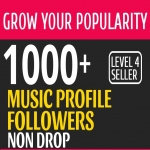 Get Instant 1000+ Music Promotion Followers To your Account