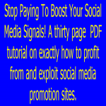 Stop Paying For Social Signal Level Boosting