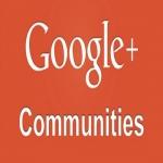 Google-Plus Free Advertising Communities Listing