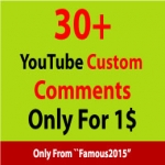 100+ You. Tube Custom Comments within 12-24 hours