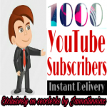 Get instant 1000+ YouTube Subscribe in your channel and 100+YouTube videos like safe and non drop
