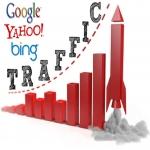 SEO Web Traffic Mix 30 days