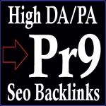 DA 100-70 and PA 90-50 High PR 50 Pr9 Boost Safe Seo Backlinks