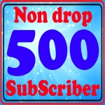 Real human 500+ You Tube sub-scribes instant start