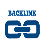 Backlink on a news and information website