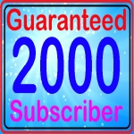 Drip feed 2000 non drop sub-scribers fully safe high quality and real active service