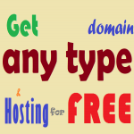 Unlimited. com/. net/. org. Domains & 25 GB Hosting with each domain for FREE