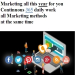 Top Marketing 1 year Daily work for your business