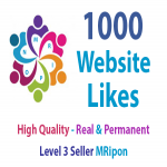 Start Instant 1000 High Quality Website Likes